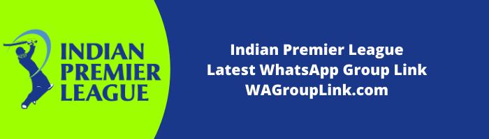 IPL WhatsApp Groups