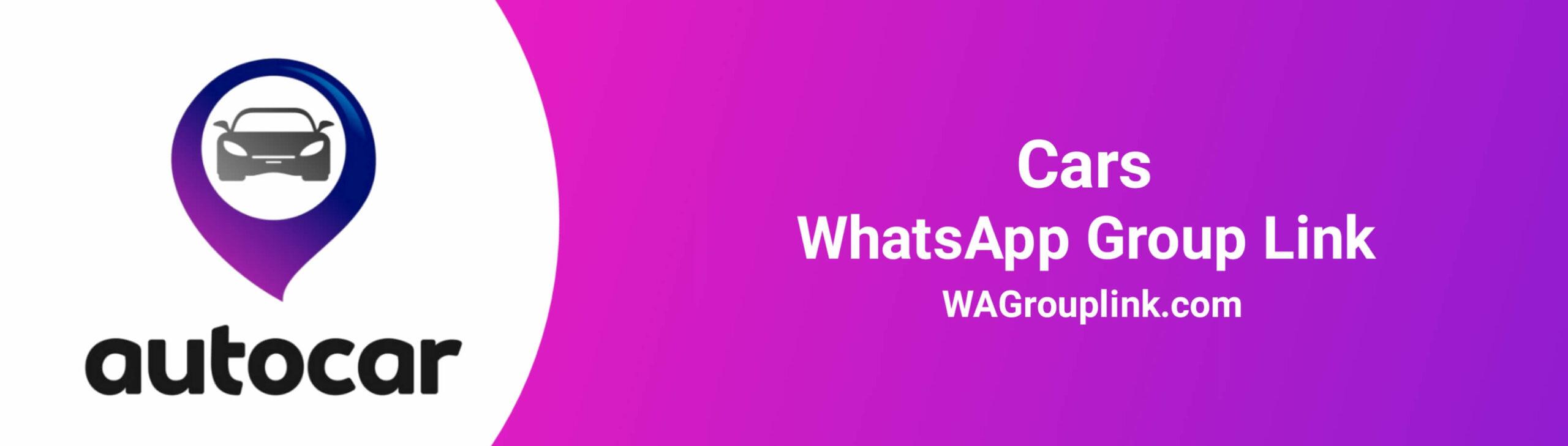 Cars WhatsApp Group Link