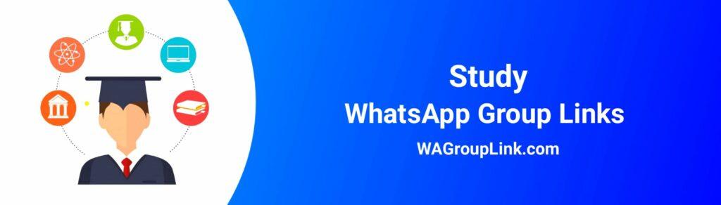 Study WhatsApp Group Link